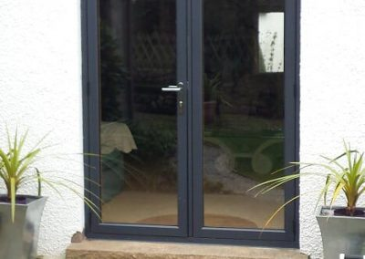 Residence 9 french doors in eclectic grey