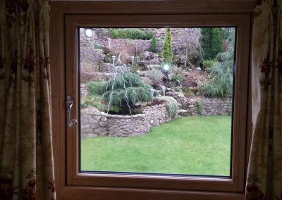 Residence 9 inside oak effect window