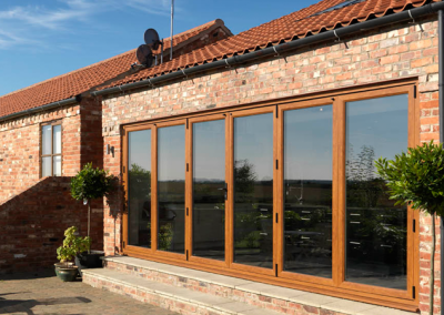 UPVC bifolds