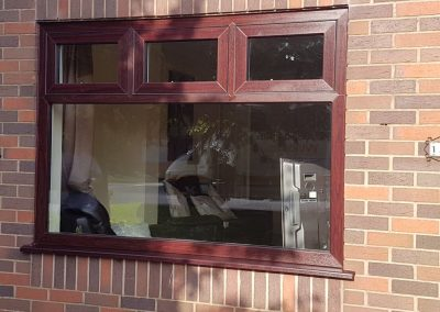 flush sash modus in rosewood
