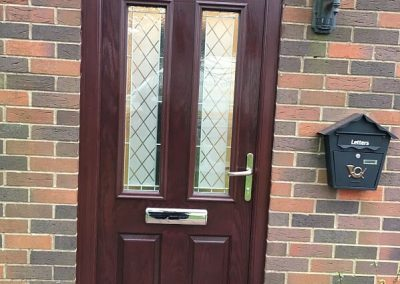 Rosewood Composite Door (palermo door)