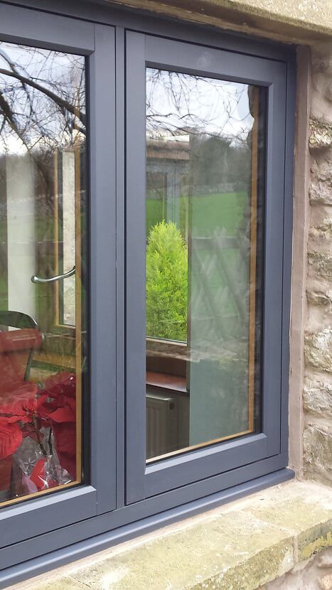 Residence 9 eclectic grey UPVC window