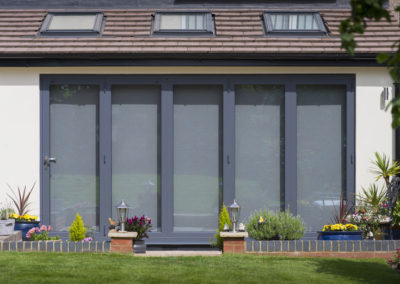 Anthracite Grey Bi Fold doors