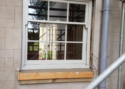 Timber sliding sash windows