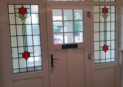 Suffolk Door Leaded Lights inside