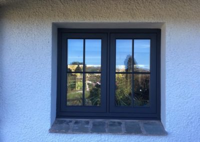 Residence 9 window eclectic with astrical bars