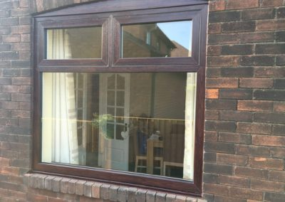 rosewood flush sash windows
