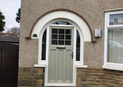 suffolk door curved top light with sidescreens