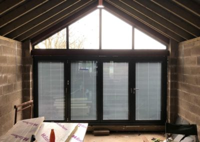 Origin bifold with internal blinds